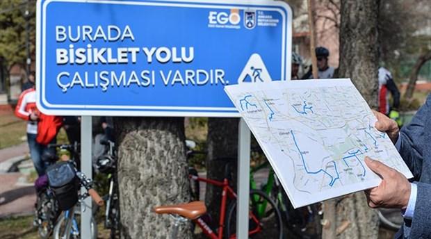 Başkent'te Bisiklet Yolu Projesi için ilk adım atıldı