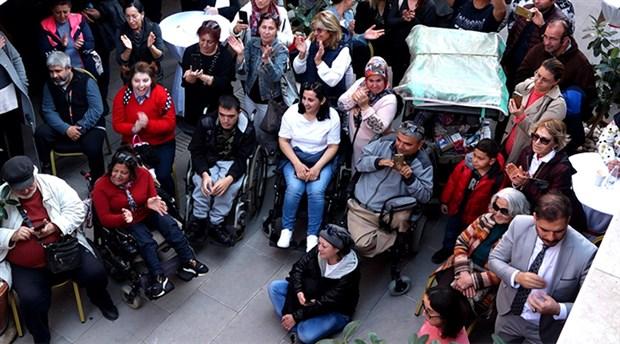 Marmaris Belediyesi'nden engellilere destek