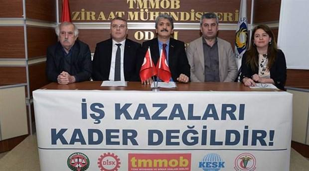 Adana'da iş cinayetleri konuşuldu: Emekçilerin hayatı daha fazla kar için feda edilemez