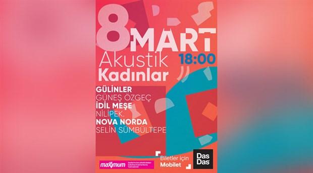 8 Mart'ta kadınlar şarkılarını DasDas'ta söyleyecek!
