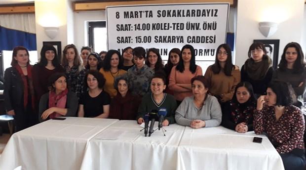 Ankara Kadın Platformu'ndan çağrı: 8 Mart'ta sokaklardayız