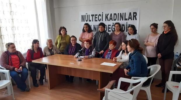 Antalya Kadın Platformu'ndan mültecilere destek açıklaması