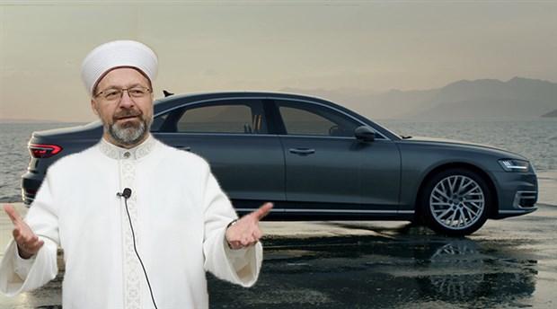 Diyanet İşleri Başkanı İBB'nin aracını Ankara'ya götürdü: Erbaş'ın Audi sevdası