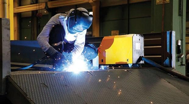Sanayi üretimi Ocak'ta yüzde 0,2 geriledi