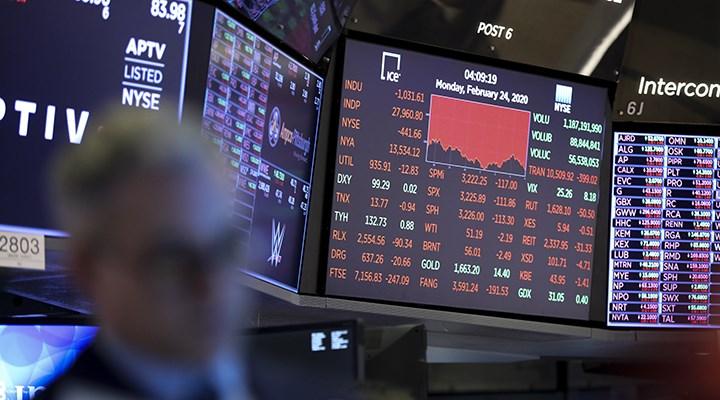 ABD'de hisseler çakıldı, borsa devre kesti