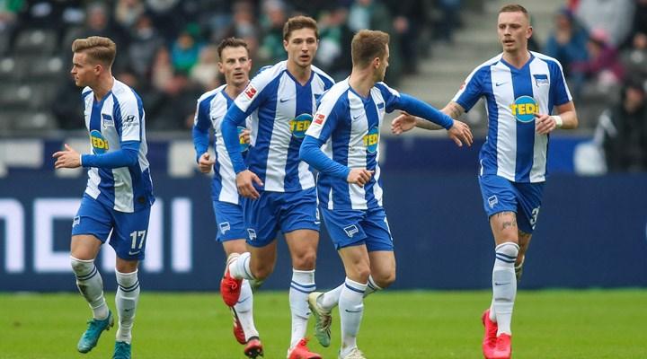 Hertha Berlin'de bir oyuncunun koronavirüs testi pozitif çıktı