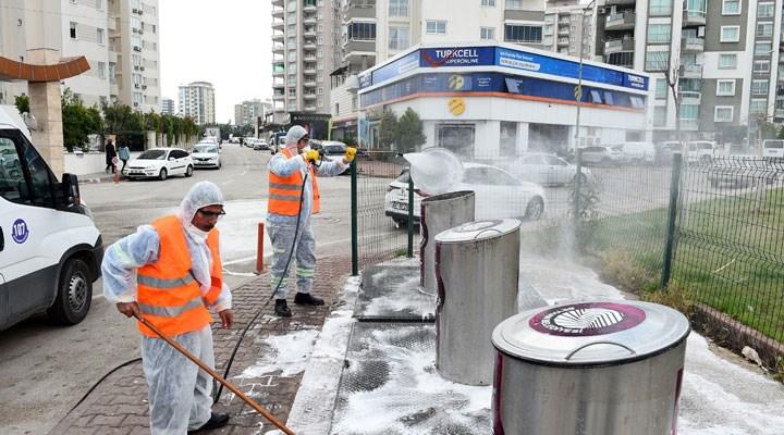 Seyhan'da 'Kamusal Hijyen' seferberliği: Kamusal alanlar dezenfekte ediliyor