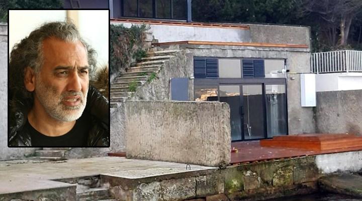 Koronavirüsü fırsat bilen Sinan Çetin, Büyükada'daki villasının yanına duvar ördü