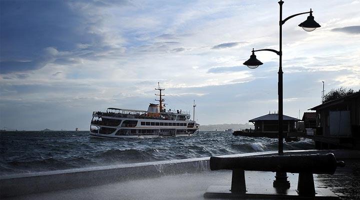 Marmara için şiddetli rüzgar ve fırtına uyarısı