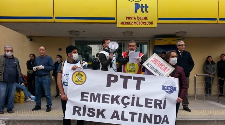 'PTT çalışanları risk altında'
