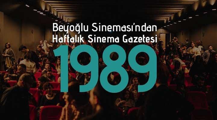 Beyoğlu Sineması'ndan haftalık sinema gazetesi: 1989