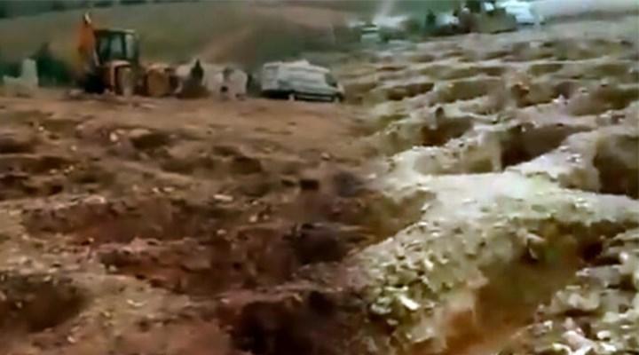 """Gaziantep Valiliği'nden """"toplu mezar"""" iddialarına ilişkin açıklama"""