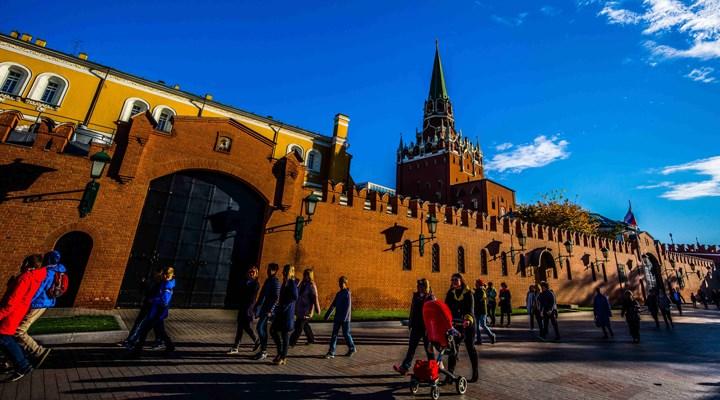 Kremlin'de iklim değişikliğine karşı ışıklar söndü