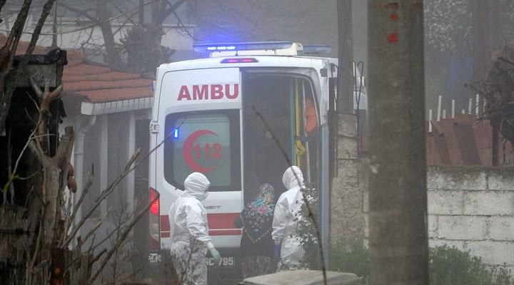 Karantinaya alınan köyde, bir yurttaş hastaneye kaldırıldı