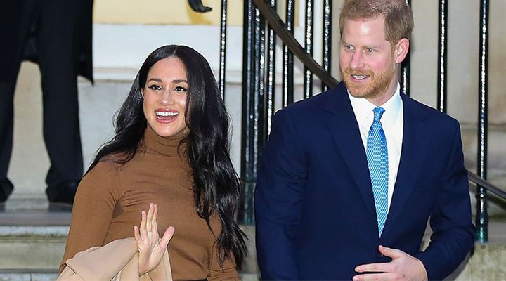 Prens Harry ve Meghan Markle'dan Trump'a yanıt