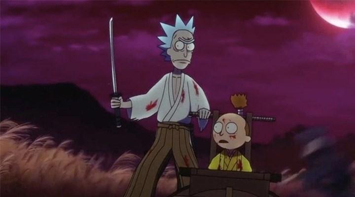 Rick and Morty'den anime bölümü