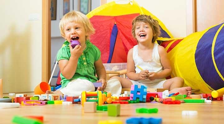 Çocuklar oyunlarla özgür