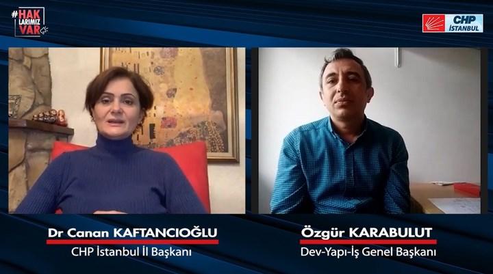 Kaftancıoğlu inşaat işçilerinin sorunlarını dinledi: İstanbul'da en az 15 bin işçi işsiz kaldı!