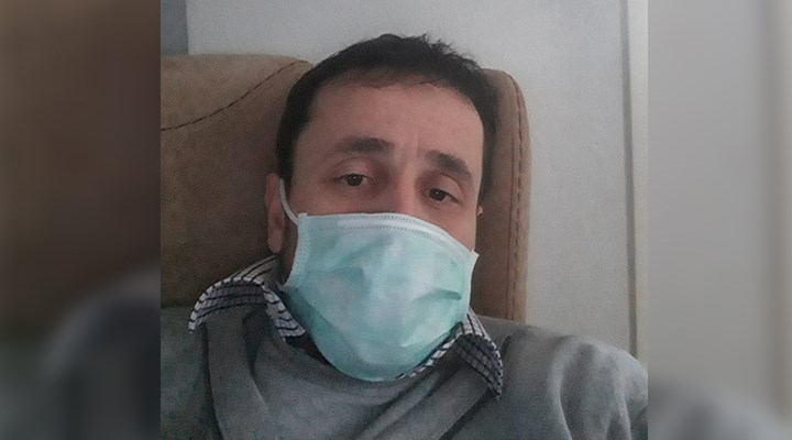 Koronavirüsten eşini ve bebeğini kaybeden Recep Aydın: Evinizde oturup bekleyin