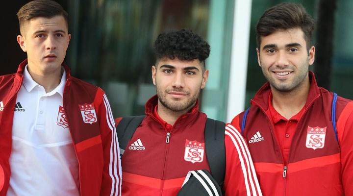 20 yaş altına sokağa çıkma yasağı gelmesi Sivassporlu 3 futbolcuyu da etkiledi