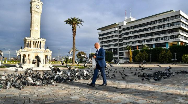 İzmir'de sokakta yaşayan canlar da unutulmadı
