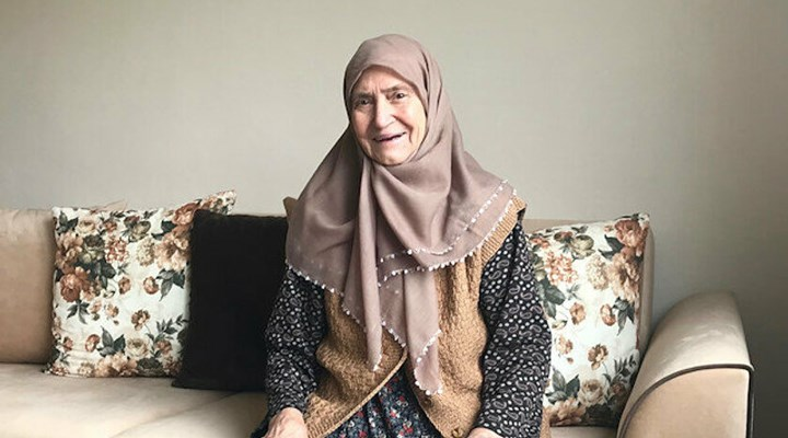 86 yaşında koronavirüsü yenen Resmiye Işık beyin kanaması geçirdi