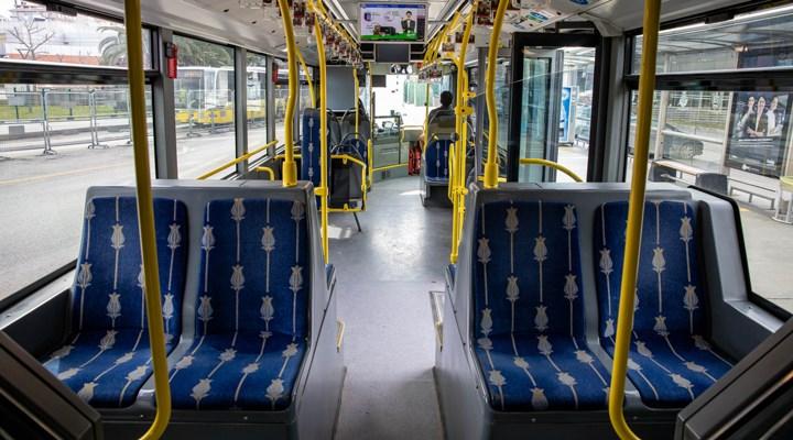 İstanbul'da toplu taşıma kullanımında %91,7 düşüş yaşandı