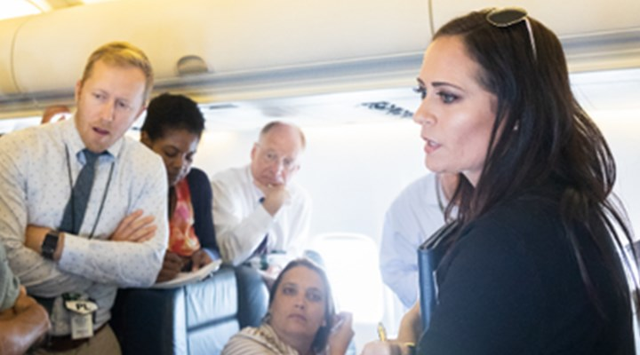 Beyaz Saray Sözcüsü Stephanie Grisham görevinden ayrıldı