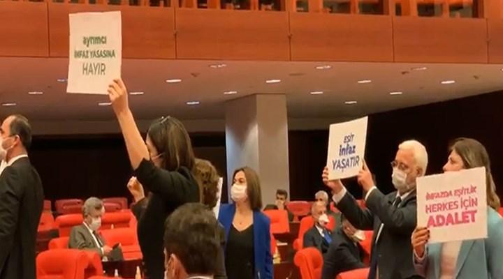 HDP:İnfaz yasası teklifinin görüşülmesi Anayasa'ya aykırı