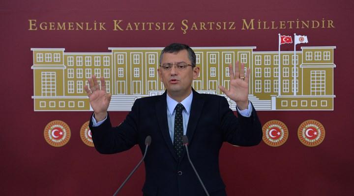 Özgür Özel: 'Sınıf bağışıklığı' ayıbını Türkiye'ye yaşatmaya kimsenin hakkı yok