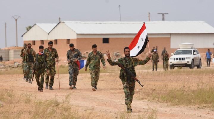 Deyrizor'da Suriye Ordusu ile IŞİD'ciler arasında çatışma
