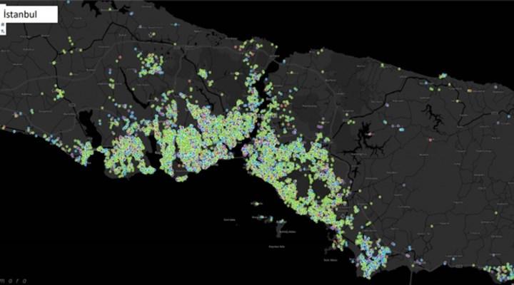 Koronavirüs haritası: İstanbul'da en riskli ilçeler