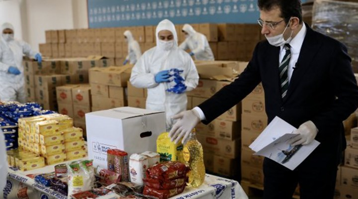 İBB'nin 'gıda yardım kolisi' ihalesi tamamlandı