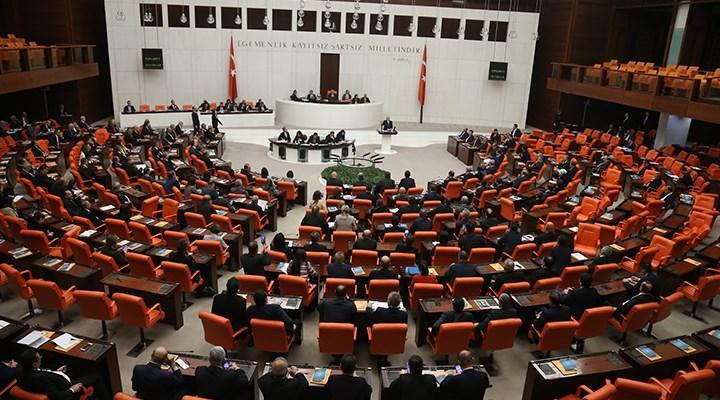 Meclis'te 'sokağa çıkma yasağı' tartışması