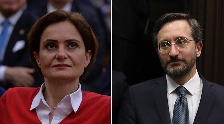 Canan Kaftancıoğlu'na 'Fahrettin Altun' soruşturması