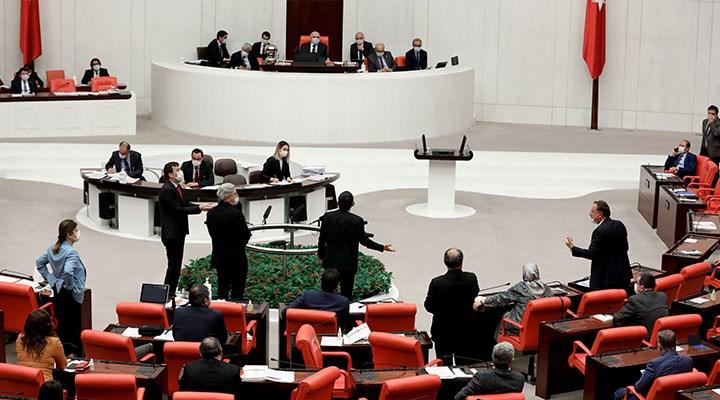 Meclis'te Erdoğan yok