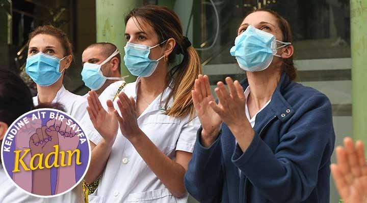 Sağlık emekçisi kadınlar anlatıyor: Bir yanda virüs diğer yanda şiddet