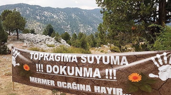 Doğa, mermer ocakları  için heba edilmesin!