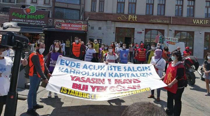 İstanbul 1 Mayıs Platformu: Virüs değil kapitalizm öldürür
