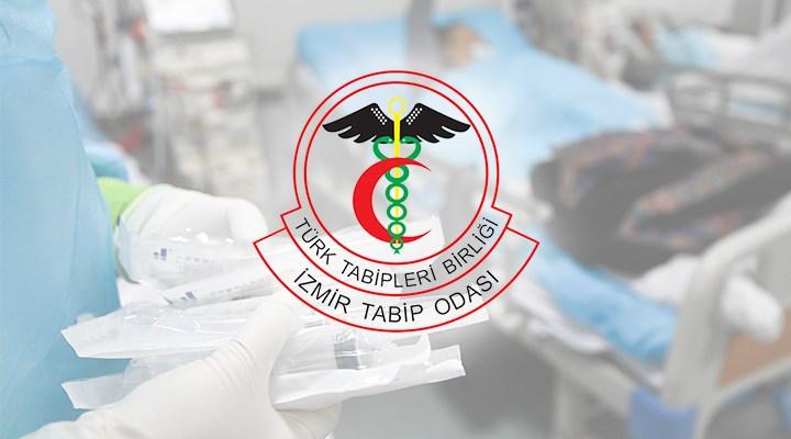 İzmir Tabip Odası: COVİD-19'un meslek hastalığı olarak kabulü haktır