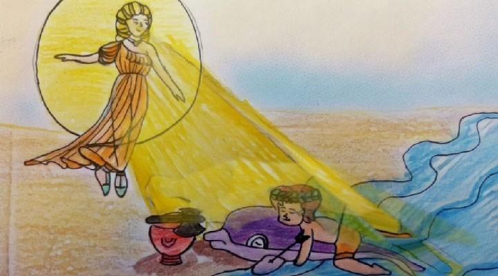 'Karia'ya Mavi Yolculuk' animasyon filmi çocuklarla buluştu