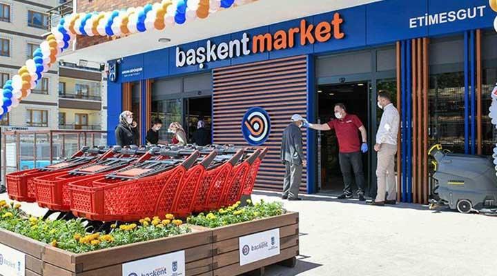 Mansur Yavaş, bir projesini daha hayata geçirdi: Başkent Market açıldı