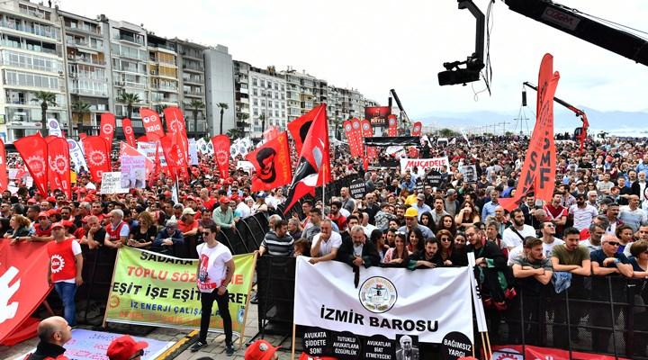 Valilik, İzmir'de 1 Mayıs'a izin vermedi
