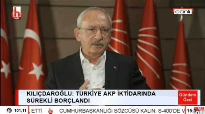 Kılıçdaroğlu: Erdoğan gideceğini görüyor, kaybedeceğini görüyor