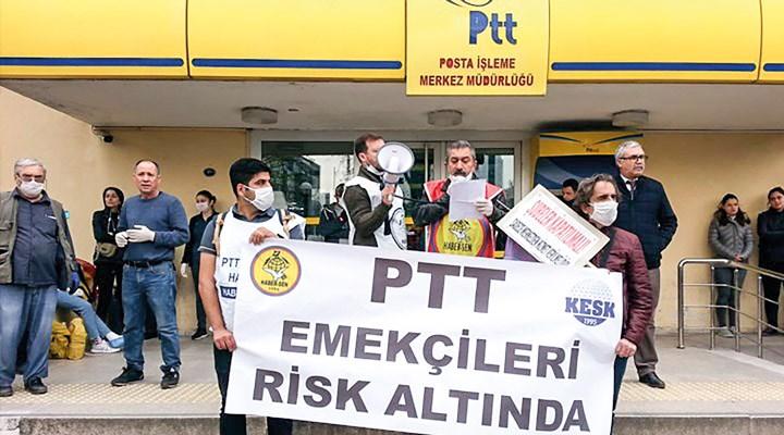 İzmir'de PTT emekçileri endişeli: Acil kargolar dışındaki tüm kargoların durdurulması gerekir