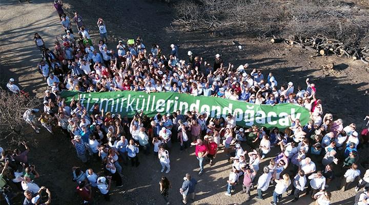 İzmir'in ormanları için 1.5 milyon lira toplandı