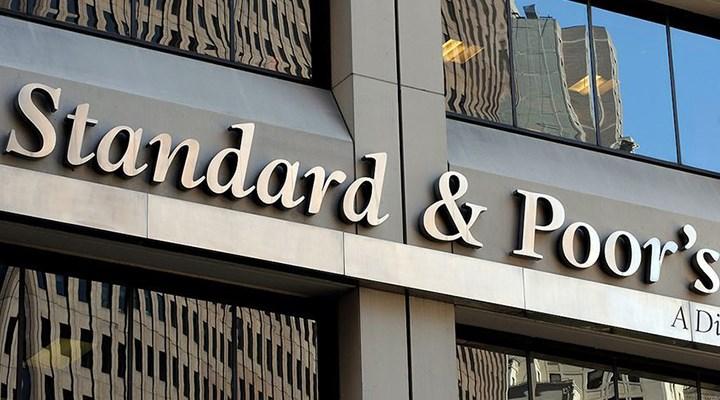 """S&P Türkiye'nin uzun vadeli döviz cinsinden kredi notunu """"B+"""" olarak teyit etti"""