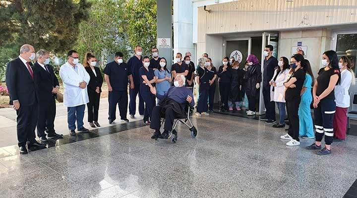 KKTC'de koronavirüs tedavisi gören son hasta da taburcu oldu