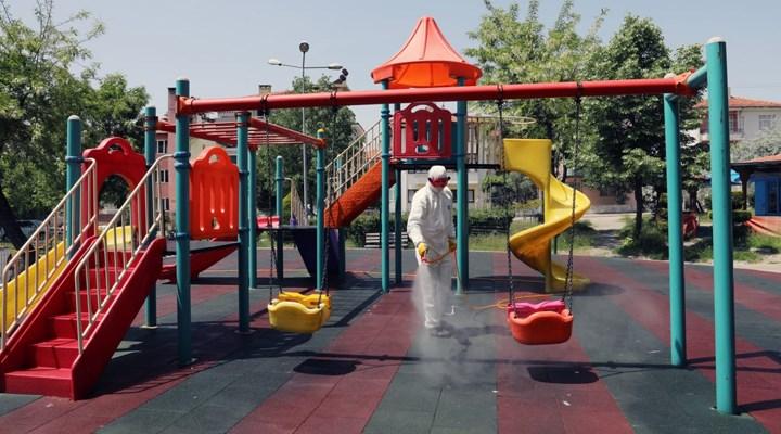 Muğla'da parklar çocuklar için hazırlanıyor