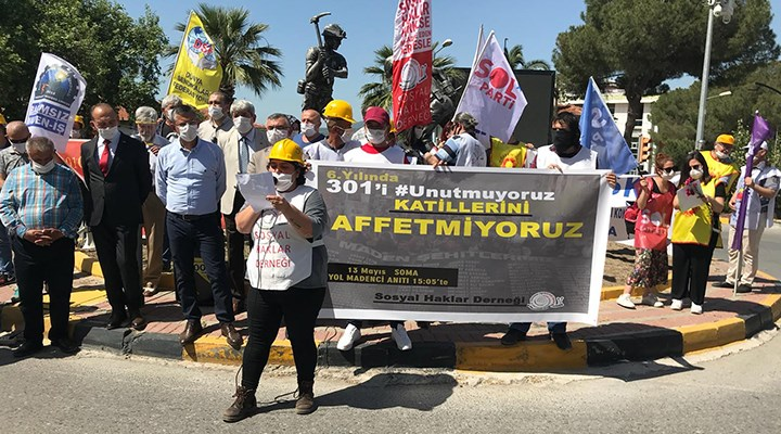 Kâr hırsı uğruna Soma'da katledilen 301 işçi unutulmadı: Yüreğimizin ateşi sönmedi